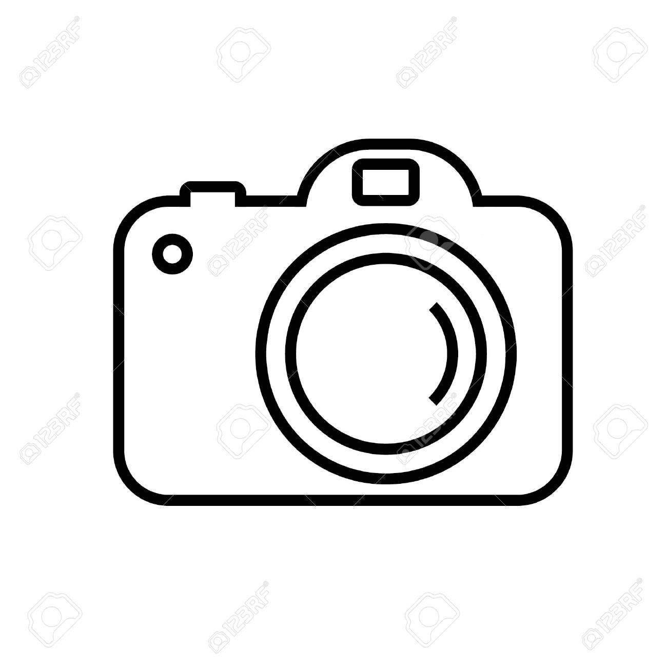 Camera black and white clipart png transparent stock Simple camera clipart black and white 3 » Clipart Portal png transparent stock