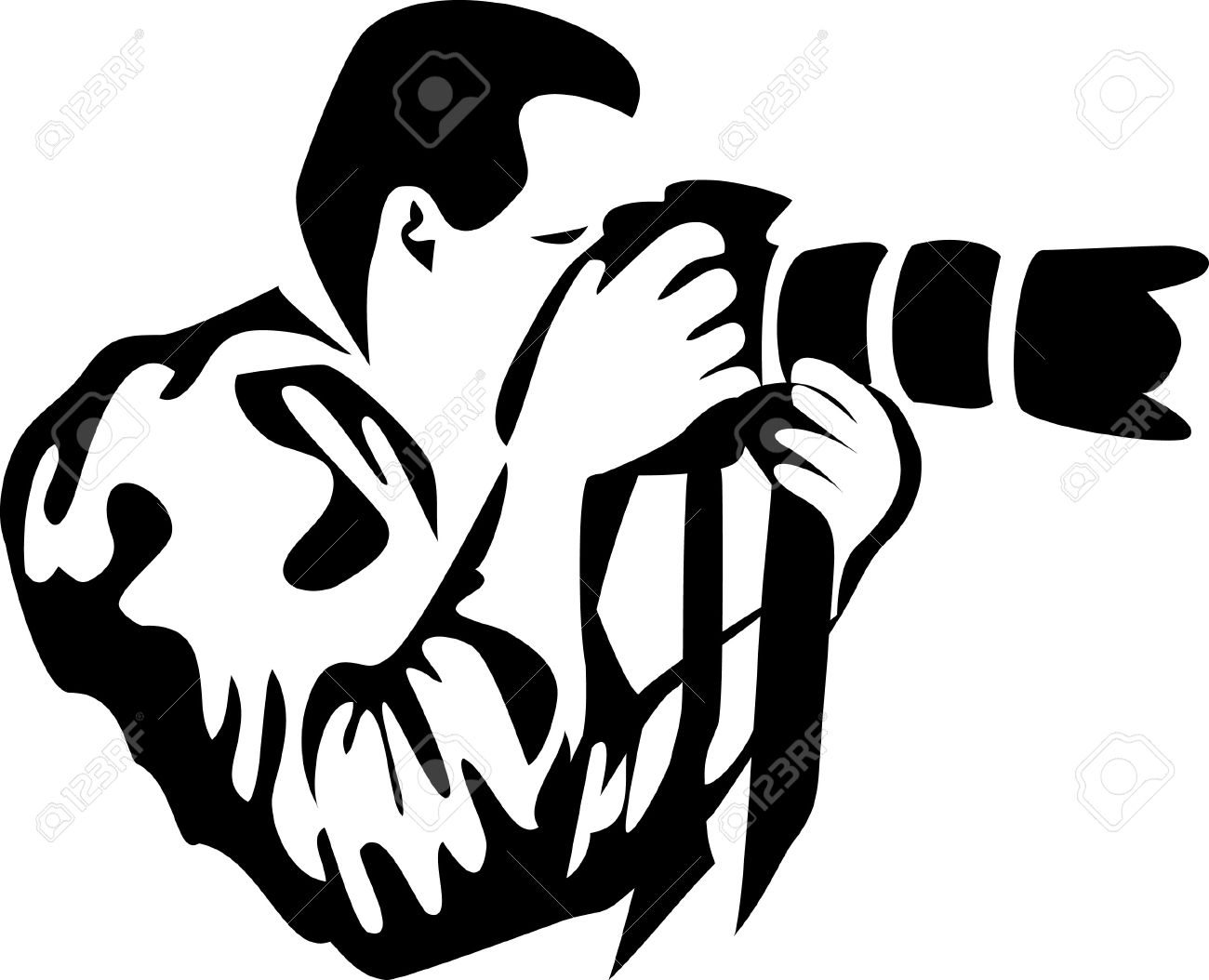 Camera clipart for logo svg 1300x1054 Logo Free Paparazzi Camera Clipart - 1054*1300 - Free ... svg