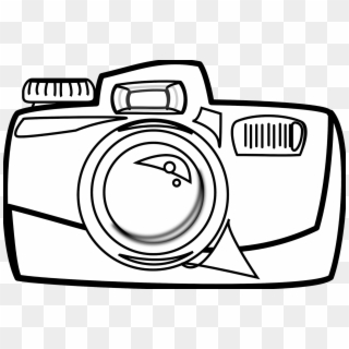 Camera clipart white banner black and white library Free Camera Clipart PNG Images | Camera Clipart Transparent ... banner black and white library