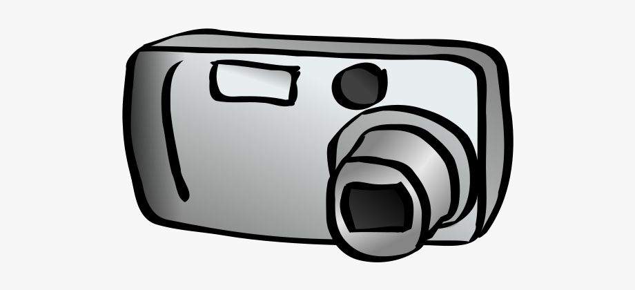 Camera digital clipart clipart transparent stock Digital Camera Png Images - Black And White Camera Clipart #812426 ... clipart transparent stock