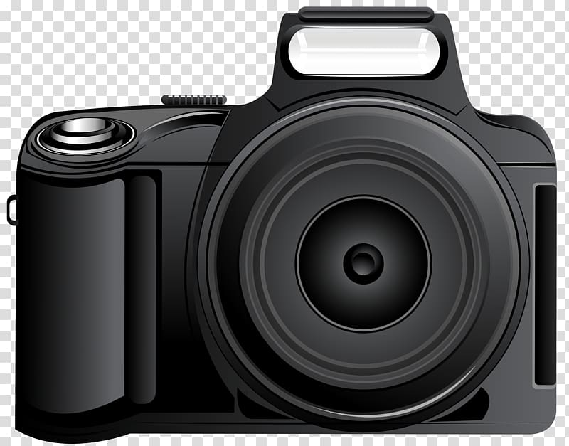 Digital cameras clipart picture black and white library Graphic film Camera Digital SLR , cameras transparent background PNG ... picture black and white library