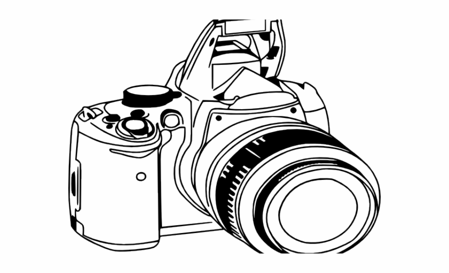 Camera dslr clipart svg free stock Dslr Camera Clipart Png Free PNG Images & Clipart Download #487649 ... svg free stock