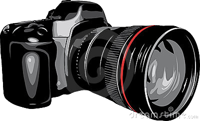 Camera dslr clipart black and white library Camera Dslr Clipart Transparent Png - AZPng black and white library