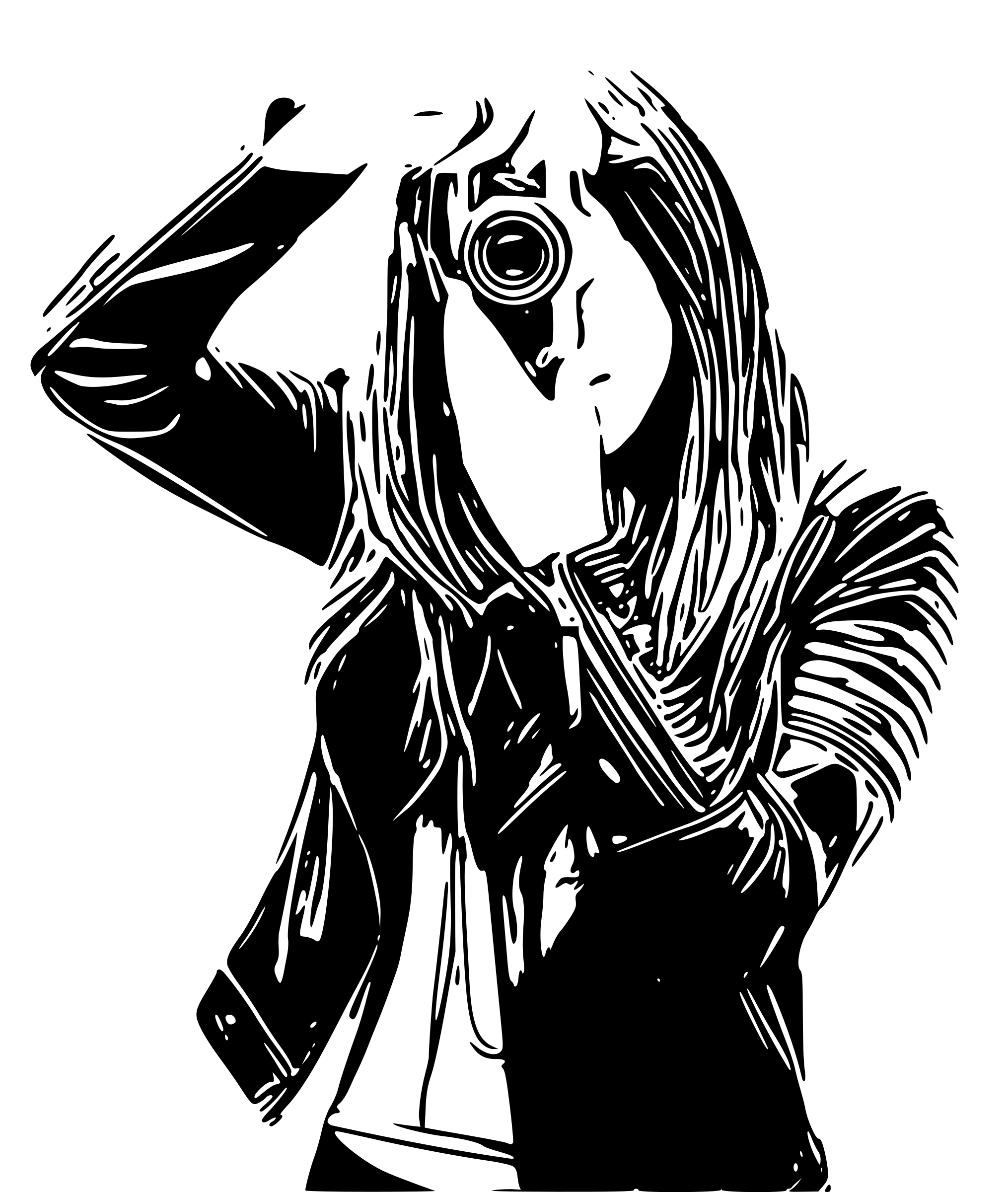 Camera lady clipart image svg transparent library Camera drawing free download on ayoqq cliparts svg transparent library
