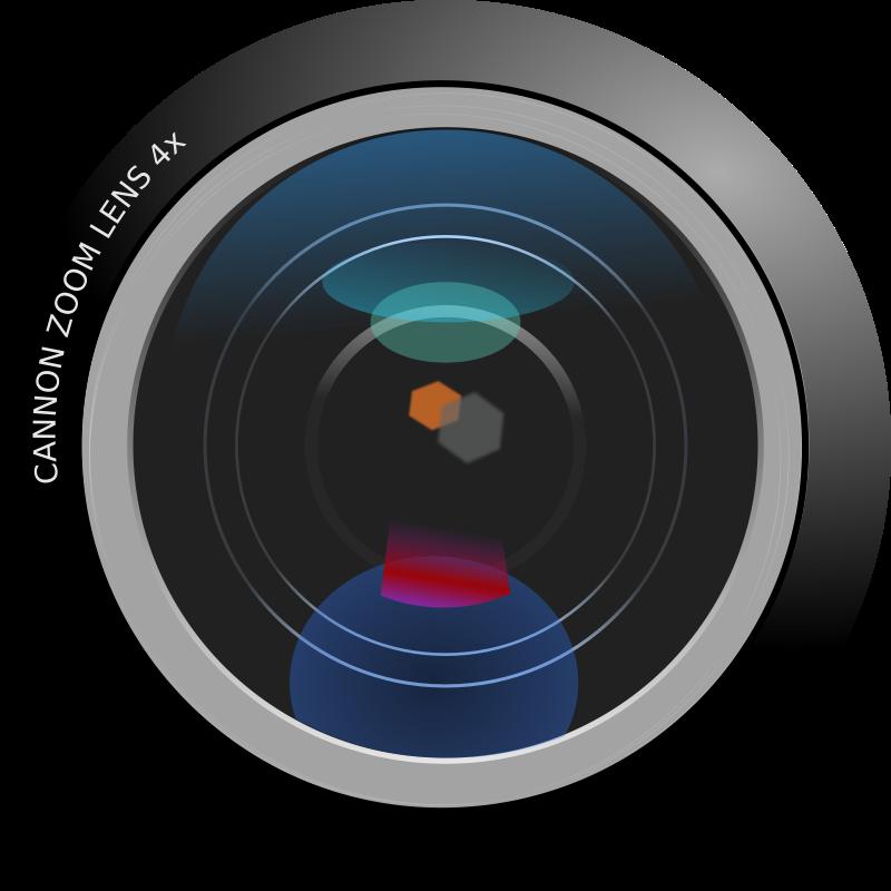 Camera len clipart jpg download Free Clipart: Camera Lens | rg1024 jpg download
