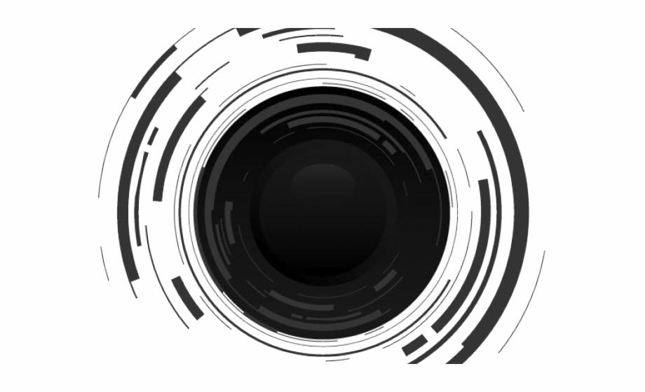 Clipart lens banner black and white library Clipart Wallpaper Blink - Vector Camera Lens Logo {#5100008} - Pngtube banner black and white library