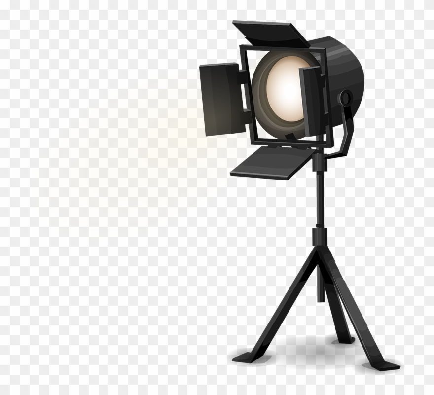 Camera light clipart clipart transparent Hollywood Clipart Stage Light - Spotlight Png Transparent Png ... clipart transparent