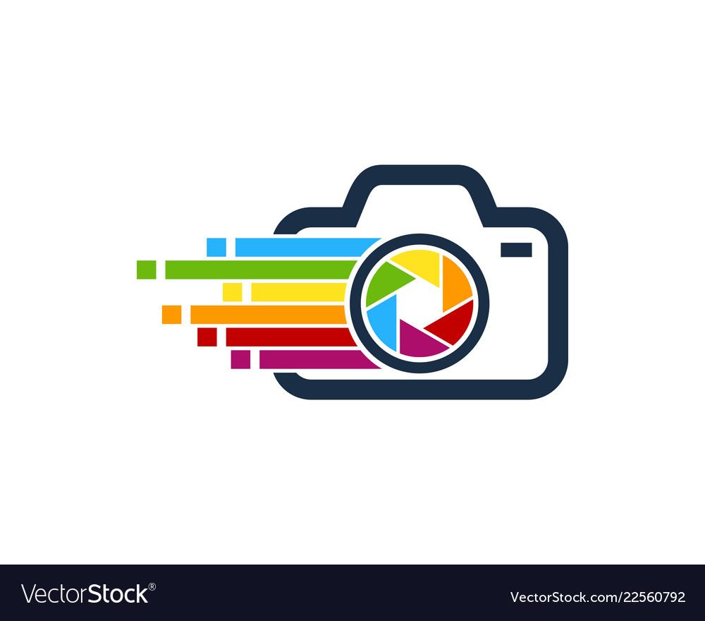 Camera logo design inspiration clipart image library download Pixel art camera logo icon design image library download
