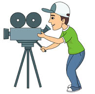 Camera man cliparts graphic royalty free library Search Results for Cameraman - Clip Art - Pictures - Graphics ... graphic royalty free library