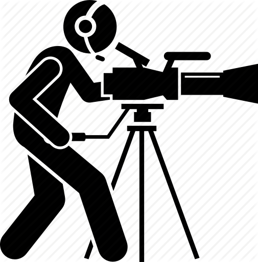 Cameraman images clipart stock Camera Silhouette clipart - Video, Photographer, Line, transparent ... stock