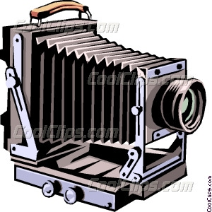 Camera old clipart graphic black and white download Old Camera Clip Art | Digital Cameras graphic black and white download