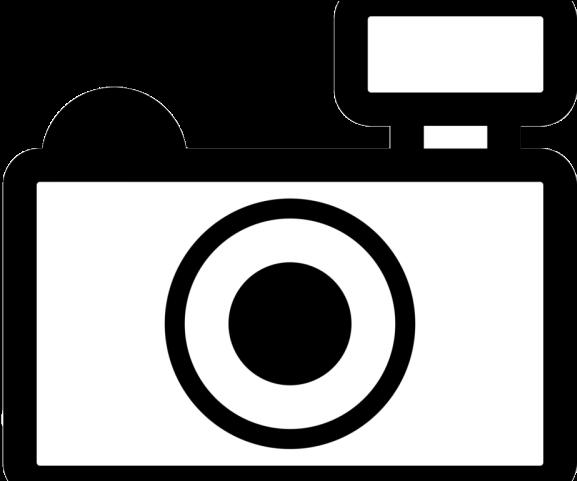 Camera white clipart graphic black and white library Photography Clipart Phone Camera - Black And White Camera Clipart ... graphic black and white library