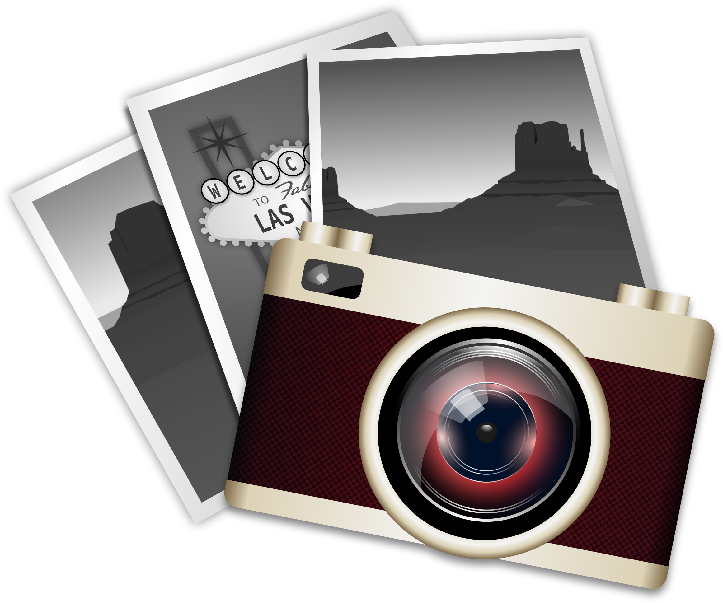 Camera with heart clipart banner royalty free library Vintage Camera Icons PNG - Free PNG and Icons Downloads banner royalty free library