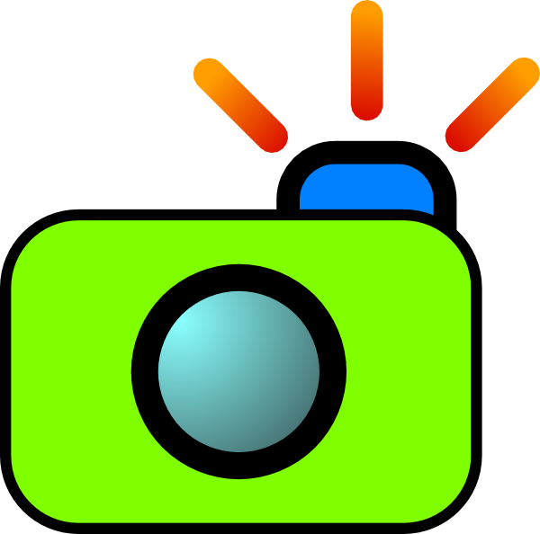 Camera with heart clipart image royalty free download Camera Clip Art at Clker.com - vector clip art online, royalty free ... image royalty free download