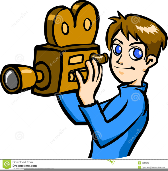 Cameraman images clipart picture free Free Cameraman Clipart | Free Images at Clker.com - vector clip art ... picture free