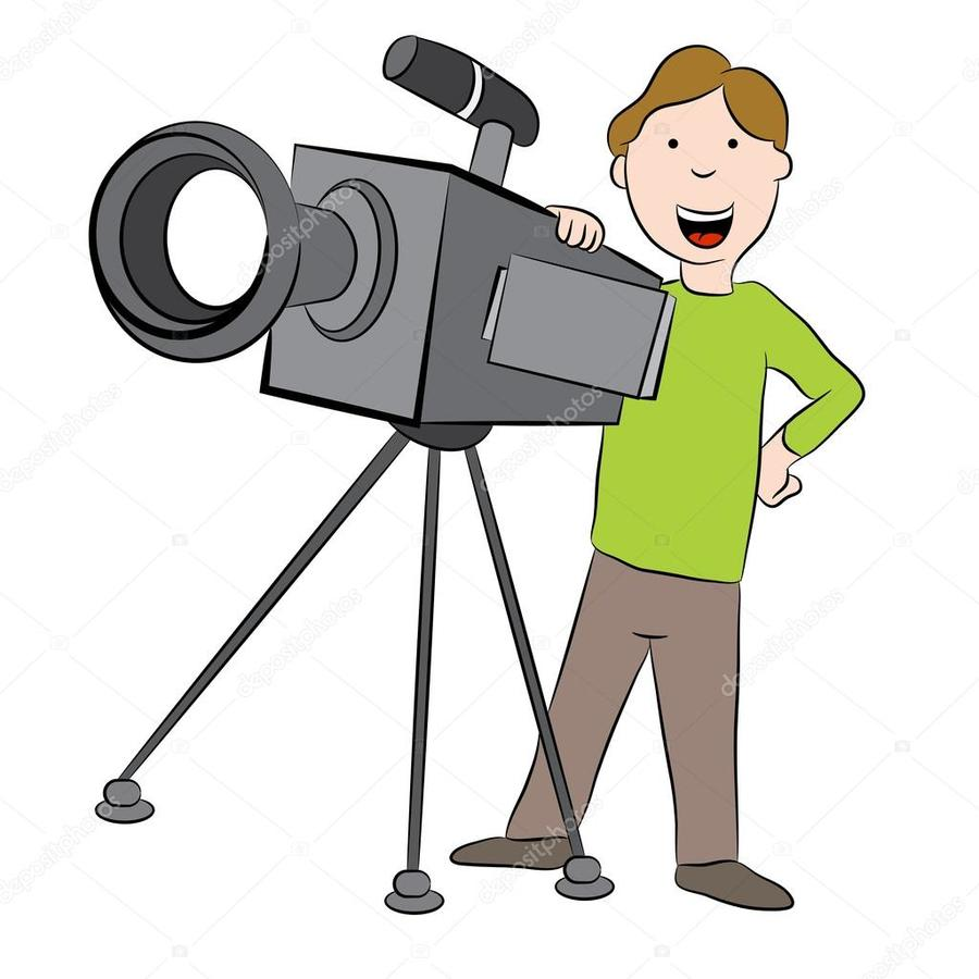 Cameraman images clipart clip library library Illustration, Camera, Cartoon, Product, Technology, Line ... clip library library