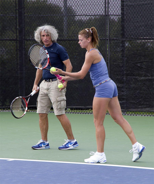Camila giorgi clipart clipart free stock Camila Giorgi and dad | Camilla Giorgi | Tennis, Tennis racket, Rackets clipart free stock