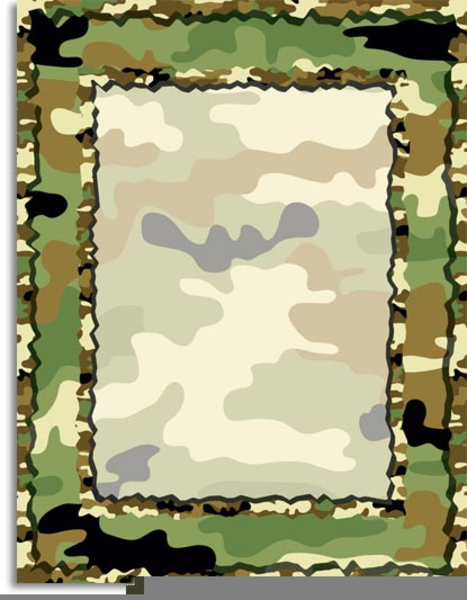 Camo clipart image freeuse library Free Camo Clipart Borders Images At Clker Com Vector Clip Cheap ... image freeuse library