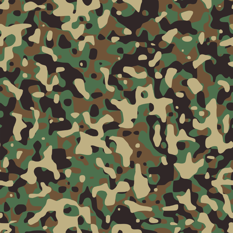 Camo images clipart vector library stock Free Clipart: Woodland Camouflage | Sirrob01 vector library stock