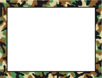 Camouflage clipart borders jpg stock Camo Border - Cliparts.co jpg stock