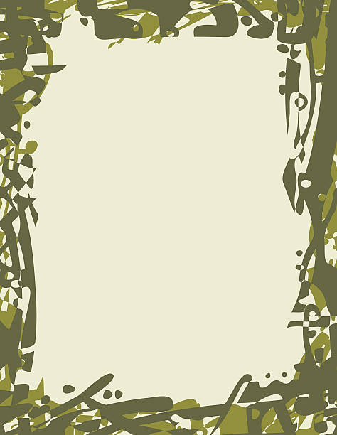 Camouflage clipart borders jpg freeuse Top Silhouette Of Border Camouflage Clip Art Vector Graphics And ... jpg freeuse