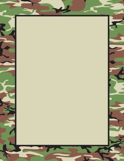 Camouflage clipart borders vector freeuse Pinterest vector freeuse
