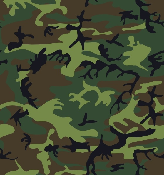 Camouflage clipart graphic black and white library Camouflage Pattern clip art Free vector in Open office drawing svg ... graphic black and white library