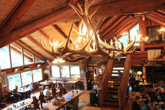 Restaurant picture of museum. Camp 18