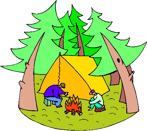 Campamento clipart