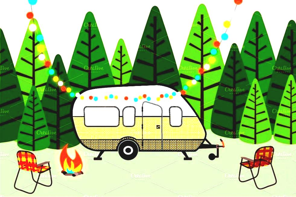 Camper border clipart clip art library stock Family Camping Clipart | Free download best Family Camping Clipart ... clip art library stock