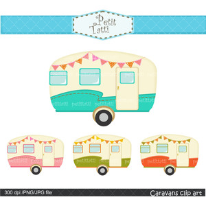 Camper clipart images vector library Free Retro Camper Cliparts, Download Free Clip Art, Free Clip Art on ... vector library