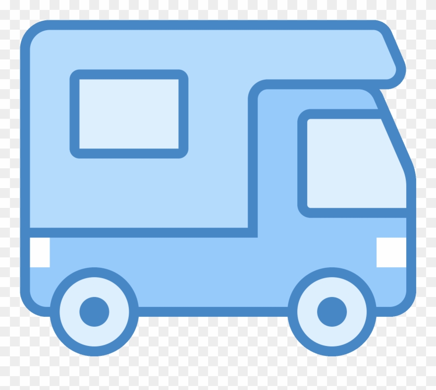 Campers being quiet clipart graphic stock The Icon Is A Very Simplified Depiction Of An Rv Camper - Icon ... graphic stock