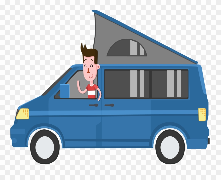 Campers being quiet clipart jpg library stock High-def Entertainment Anywhere Equip Your Camper Van - Cartoon ... jpg library stock
