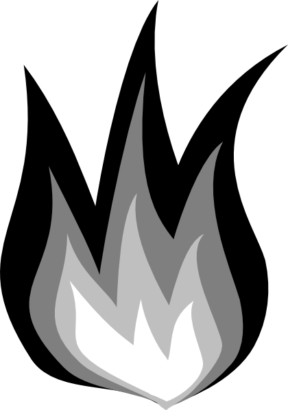 Campfire black and white clipart no background freeuse Fire Clipart Black And White | Free download best Fire Clipart Black ... freeuse