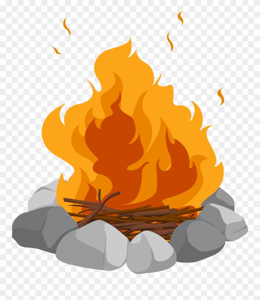 Clipart bonfire svg royalty free download Campfire Cartoon Bonfire Clip Art Heap - Png Download (#255227 ... svg royalty free download