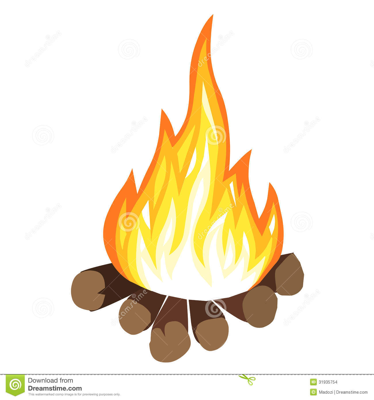 Campfire cartoon clipart image library Campfire Cartoon | Clipart Panda - Free Clipart Images image library