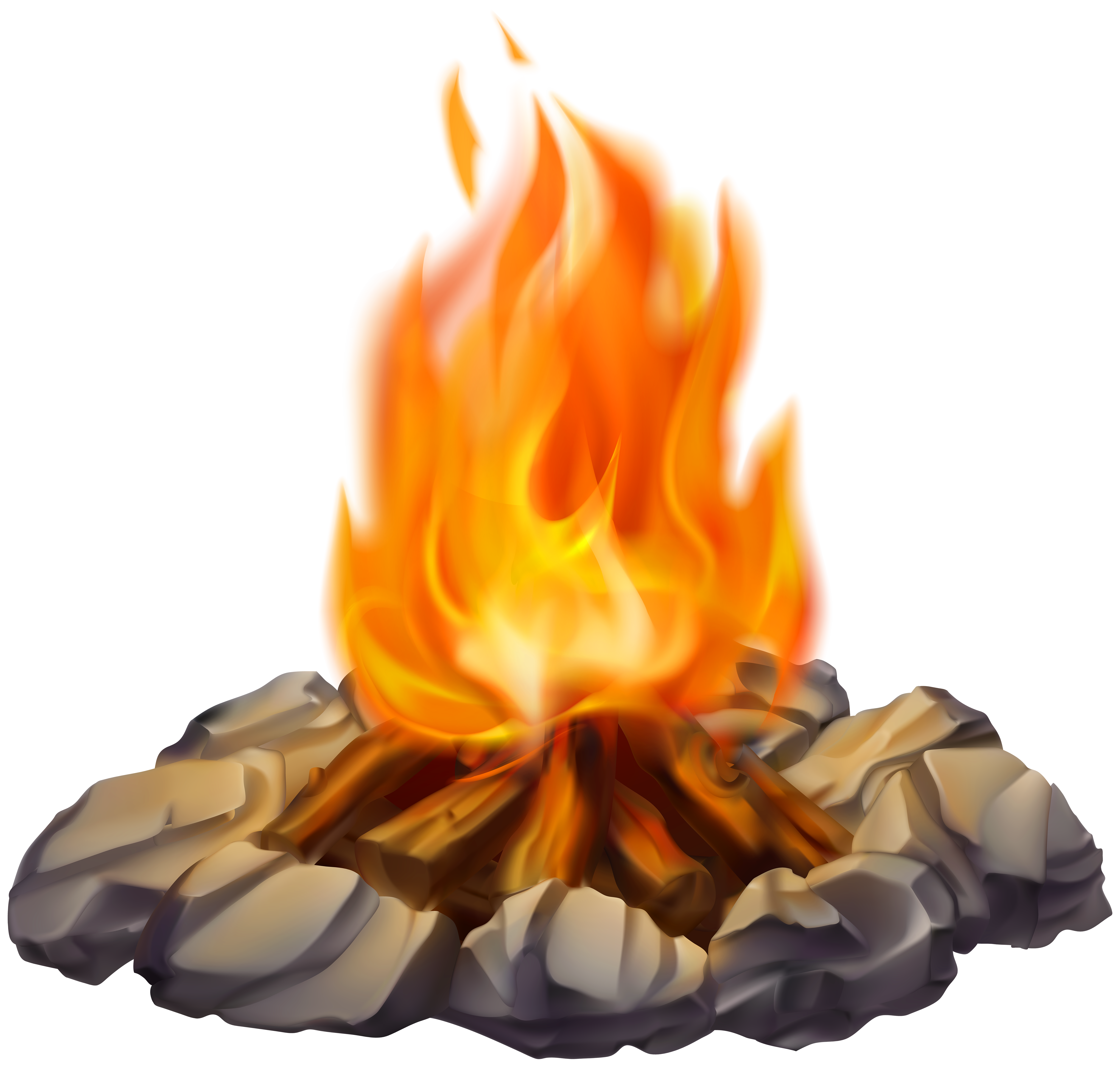 Transparent camp fire clipart svg library Campfire PNG Clip Art Image | Gallery Yopriceville - High-Quality ... svg library