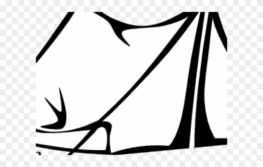 Camping and reading tent clipart black and white picture freeuse library Fort Clipart Tent House - Clip Art Black And White Tent - Png ... picture freeuse library