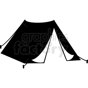 Tent vector clipart clip royalty free library tent clipart - Royalty-Free Images | Graphics Factory clip royalty free library
