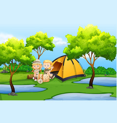Camping background images clipart royalty free Camping Background Clipart Vector Images (over 520) royalty free