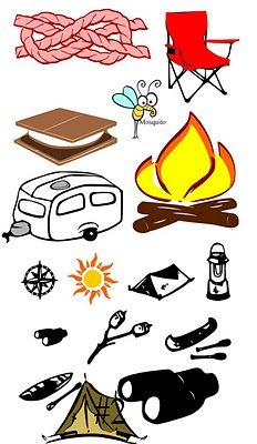 Camping books clipart picture library stock 47 Best Camping Clipart images in 2015 | Camping clipart, Outdoor ... picture library stock