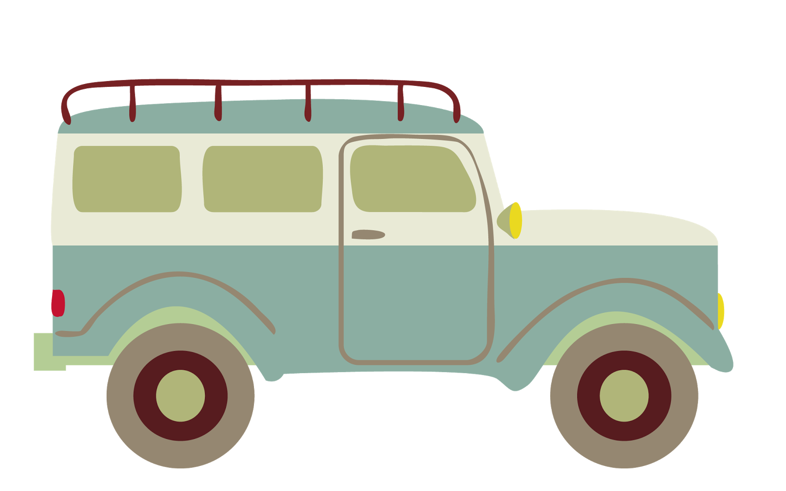 Camping car clipart svg stock Little Red Retro: Hunting Island Update svg stock