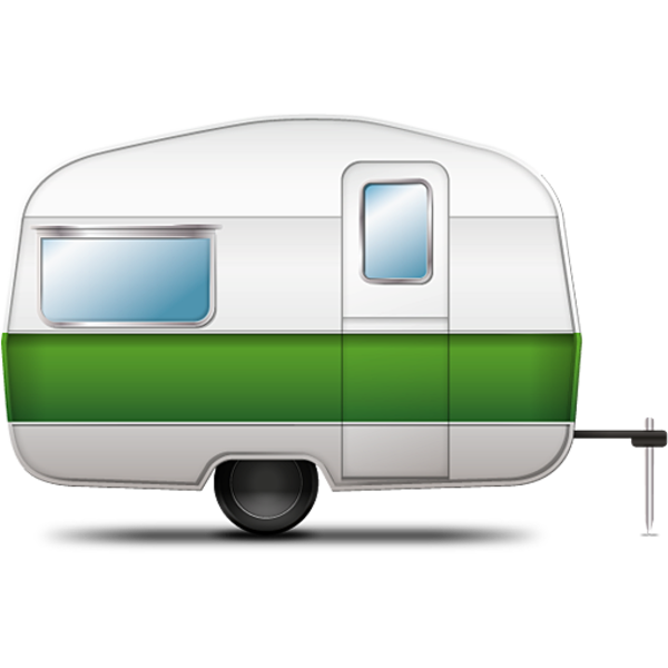 Camping car clipart royalty free library Camping Trailer 1 | Free Images at Clker.com - vector clip art ... royalty free library