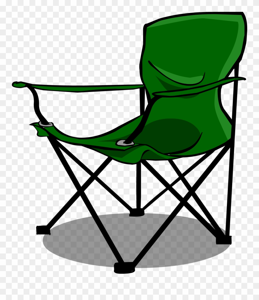 Lawn chair clipart image library library Furniture Clipart Camp Chair - Camp Chair Clip Art - Png Download ... image library library