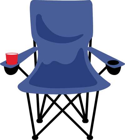 Camping chair clipart vector royalty free stock Camping chairs clipart 5 » Clipart Station vector royalty free stock