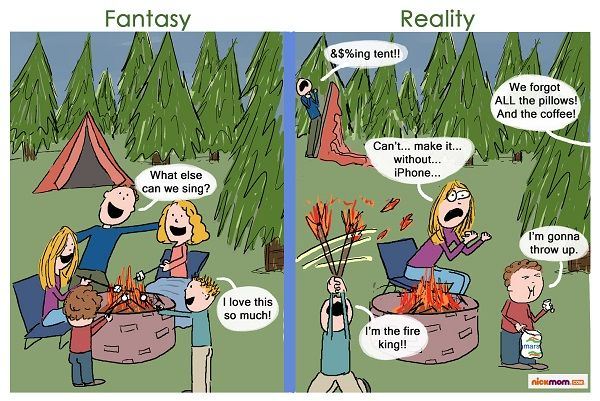 Funny camping clipart graphic royalty free library funny cartoons about camping   Similar Galleries: Funny Camping ... graphic royalty free library