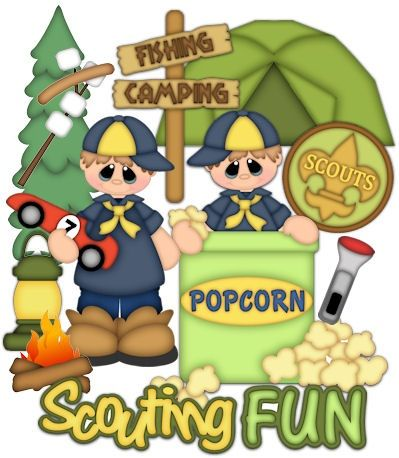 Camping cub scout clipart clip stock Pin by Lynn on Clip Art (Odds & Ends) 1 | Tiger scouts, Scout ... clip stock