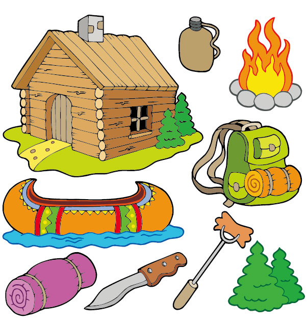 Camping images free clipart svg black and white stock Free Camping Cliparts, Download Free Clip Art, Free Clip Art on ... svg black and white stock