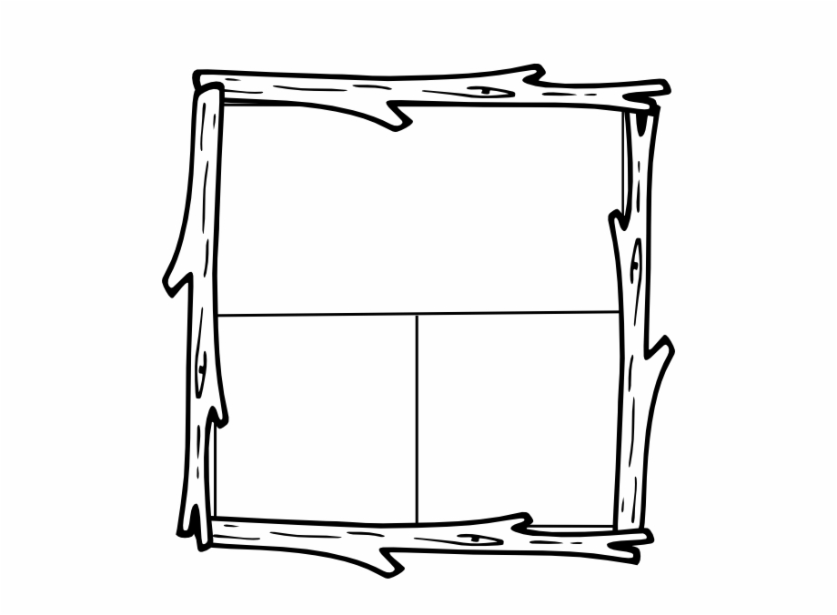 Camping in the woods clipart black and white png free Clipart Info - Wood Border Clipart Black And White, Transparent Png ... png free