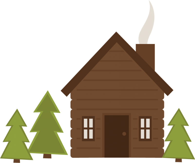 Camping log clipart freeuse stock Free Cabin Camping Cliparts, Download Free Clip Art, Free Clip Art ... freeuse stock